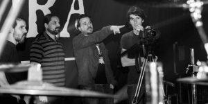 Andreas Kisser e o diretor Otavio Juliano