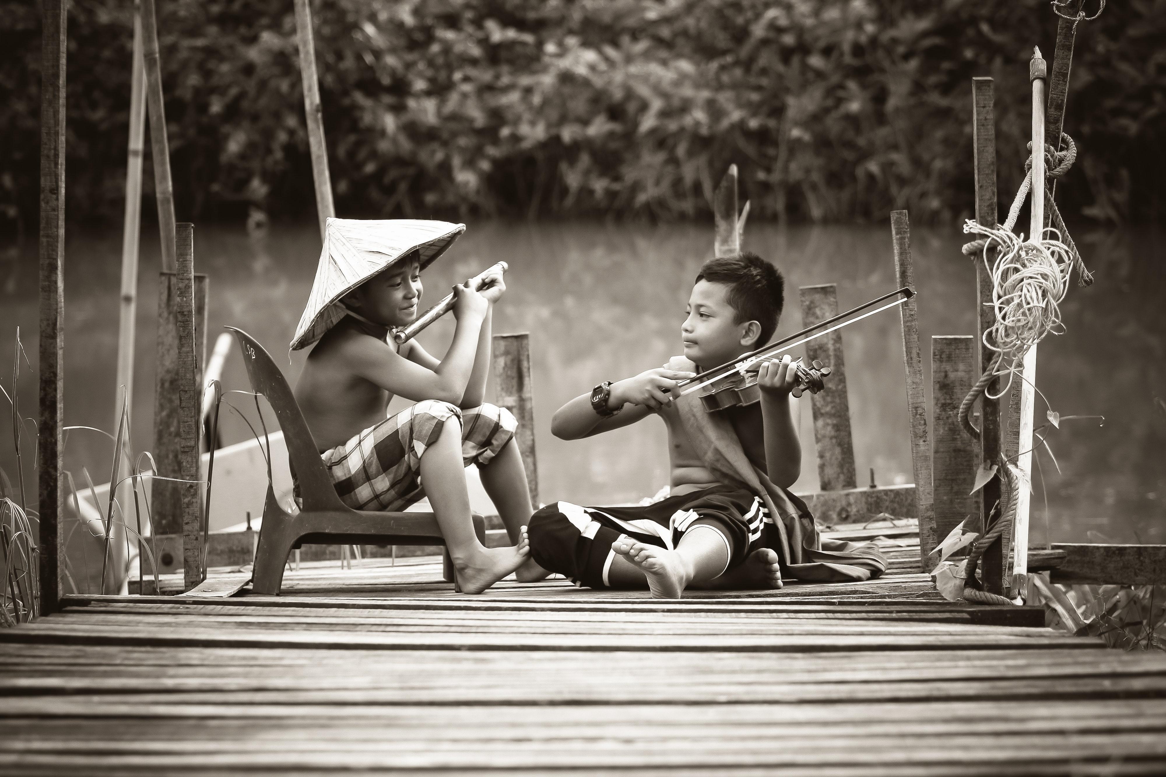 Nova geração de músicos.