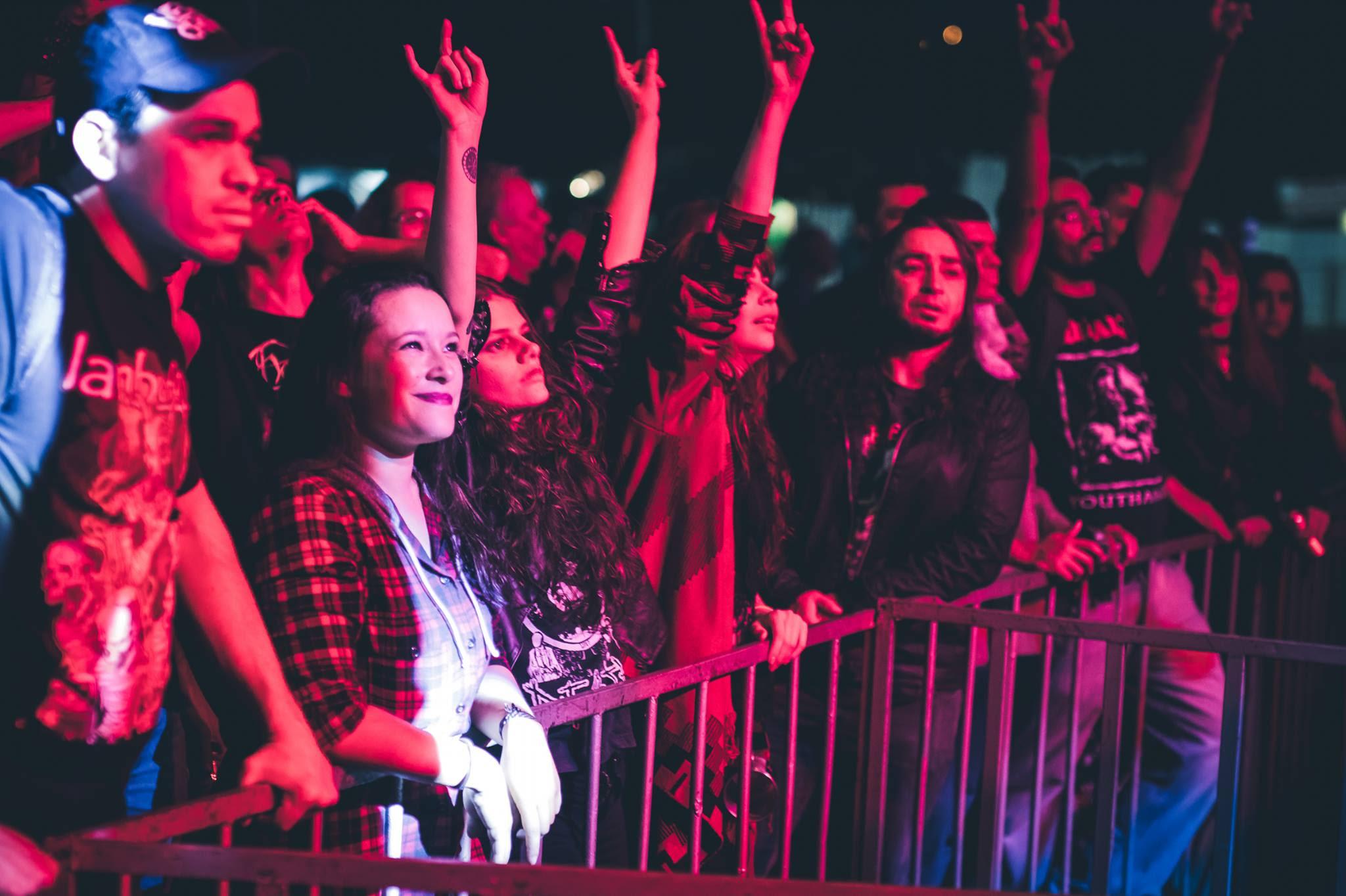ROÇA 'N' ROLL: uma reunião anual de fãs de Metal e Rock